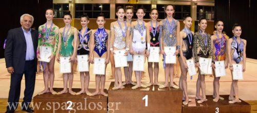 Μεγάλη επιτυχία για τον σύλλογό μας: Τρία μετάλλια στον προκριματικό Ρυθμικής Γυμναστικής Νεανίδων!