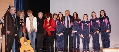 Βράβευση των αθλητριών μας από το Δήμο Π. Φαλήρου