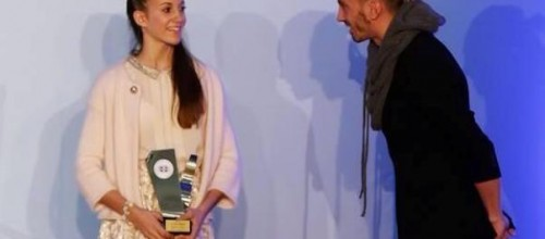 ELENI KELAIDITI WAS AWARDED BY HELLENIC SPORTS PRESS ASSOCIATION
