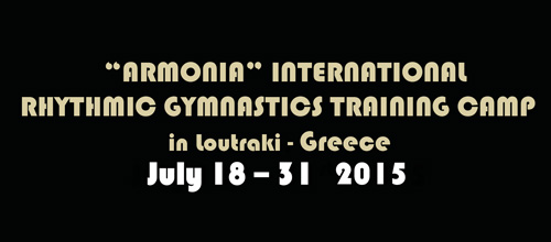 """ARMONIA"" Rhythmic Gymnastics International Training Camp 2015"