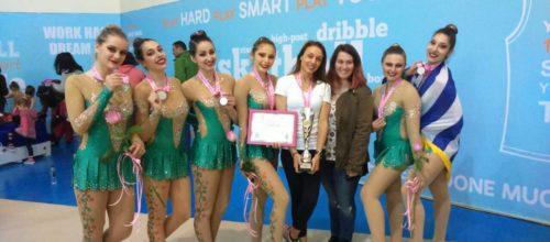Αργυρό μετάλλιο από την ομάδα της Αισθητικής Γυμναστικής στη Βουλγαρία! (video & photos)
