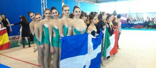5η θέση για την ομάδα γυναικών Αισθητικής Γυμναστικής στην Πάδοβα (photos)