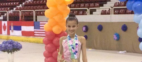 Σάρωσε τα μετάλλια η Εβίτα Γιαννοπούλου!