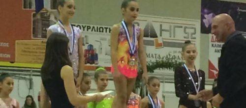 Η Σοφία Γκιργκιλή έλαμψε στο «Κύπελλο Ελπίδων 2018»