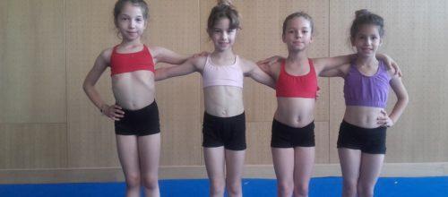 Ντεμπούτο για τις οκτάχρονες αθλήτριές μας στο Διασυλλογικό Πρωτάθλημα της Α.Ε.Σ.Γ.Α.