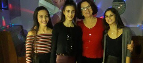 Καλή επιτυχία στην Εβίτα, την Κορίνα και την Κατερίνα!