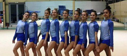 """Μικρογραφία ευρωπαϊκού πρωταθλήματος για το ανσάμπλ νεανίδων  το διεθνές τουρνουά ρυθμικής """"Aphrodite Cup 2019"""""""