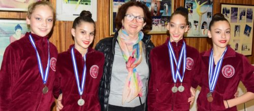 Τέσσερα μετάλλια για τα κορίτσια μας στο Πανελλήνιο Πρωτάθλημα Νεανίδων!