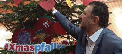 Συνεισφέρουμε όλοι στο Δέντρο της Αγάπης και της Προσφοράς του Δήμου Παλαιού Φαλήρου