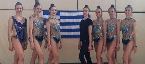 Καλή επιτυχία στην Εθνική ομάδα ρυθμικής γυμναστικής, στο παγκόσμιο κύπελλο της Σόφιας
