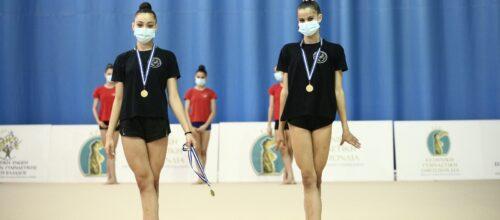 Σάρωσαν τα μετάλλια οι αθλήτριές μας στο Πανελλήνιο Πρωτάθλημα Ρυθμικής Γυμναστικής Γυναικών!
