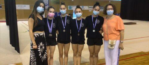 Μετάλλια και χαμόγελα για τον Γ.Ο.Π.Φ. «Η Αρμονία» στο Πανελλήνιο Πρωτάθλημα Νεανίδων