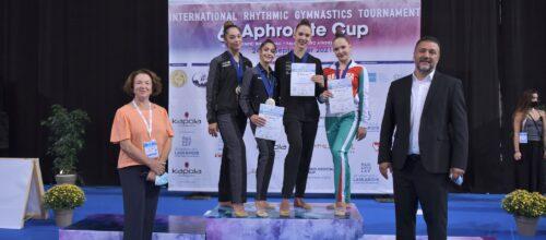 Όμορφο φινάλε στο 6ο Aphrodite Cup, υπόσχεση επιτυχίας για το επερχόμενο παγκόσμιο κύπελλο ρυθμικής του Μαρτίου (photos)