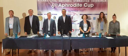 Οι προβολείς της ρυθμικής γυμναστικής στρέφονται στο Φάληρο,  για το 6ο Διεθνές Τουρνουά Aphrodite Cup