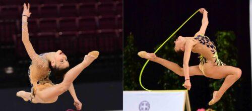 Η Εβίτα Γιαννοπούλου και η Κορίνα Λυκάκη στις Εθνικές ομάδες Ρυθμικής Γυμναστικής Γυναικών!